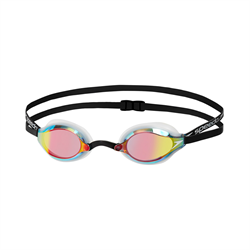 SPEEDO 日本製 FASTSKIN Speedsocket 2 反光競賽級泳鏡 [FINA 認可] 33810897B586( WHX)