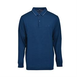 Montagut 優質羊毛毛衣SWM1120059-深海藍色