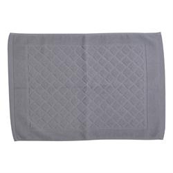 純棉浴室地巾 - 灰色 MAT2032 40x60厘米
