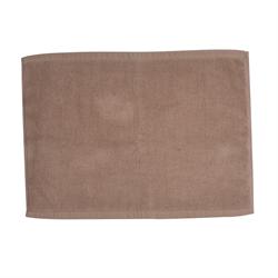 純棉浴室地巾 - 棕色 MAT015 35x50厘米