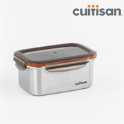 Cuitisan Rectangular Stainless Steel Container 1010ml, Sign