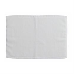 純棉浴室地巾 - 白色 MAT015 35x50厘米
