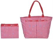 LeSportsac 20W/HB/TOT/7470P-F894 red