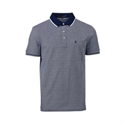 Montagut 双丝光棉Polo衫3KT2212049-深宝蓝