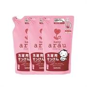 ARAU BABY LAUNDRY SOAP REFILL 800MLx3 SA009A