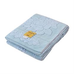 日本Tamaterry 純棉單人毛巾被TM27 (藍色)