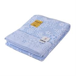 日本Tamaterry 純棉單人毛巾被TM64 (藍色)