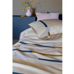 Denmark Brand Mette Ditmer 100% Cotton Printed Bedlinen Set Queen Size (Mikado).