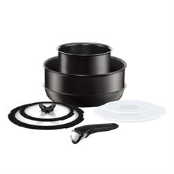 特福 Ingenio靈巧迭迭鑊黑色8件裝 L65092
