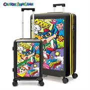 "Crayon Shin-chan luggage set (20""+25"") Model#YT30."